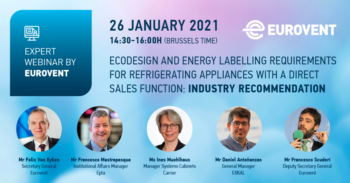 Eurovent to host ecodesign and energy labelling webinar