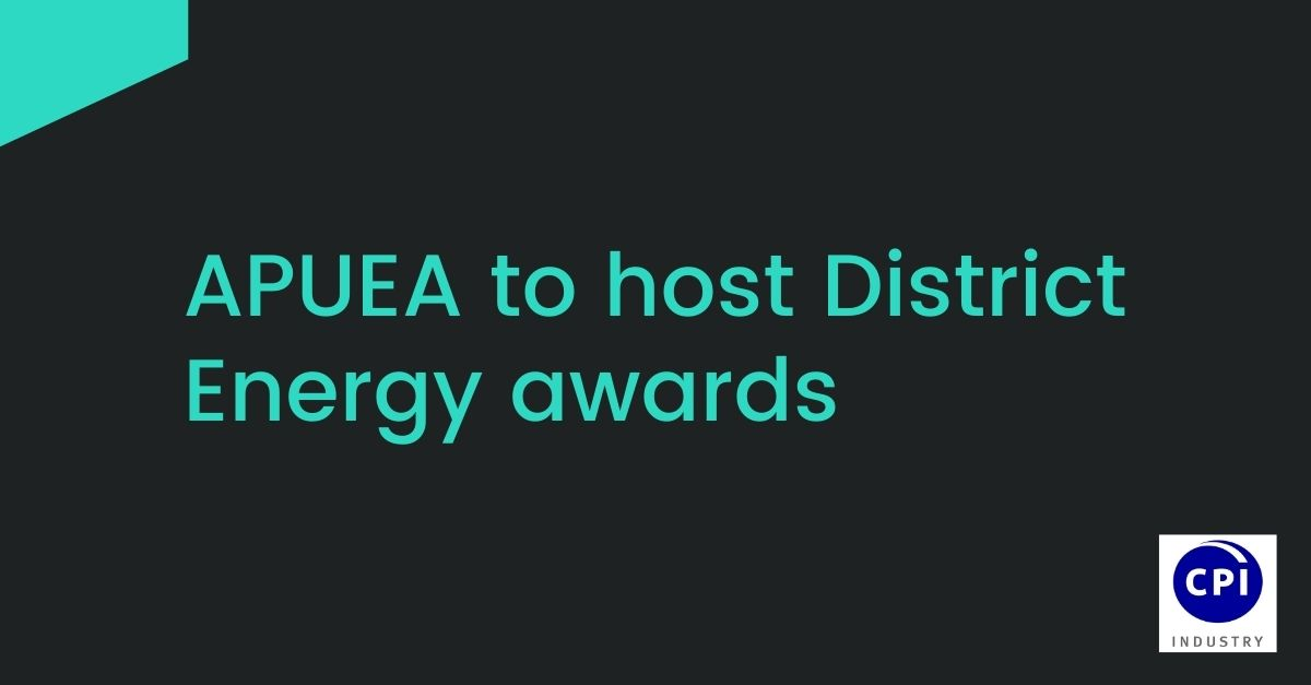 APUEA to host District Energy awards