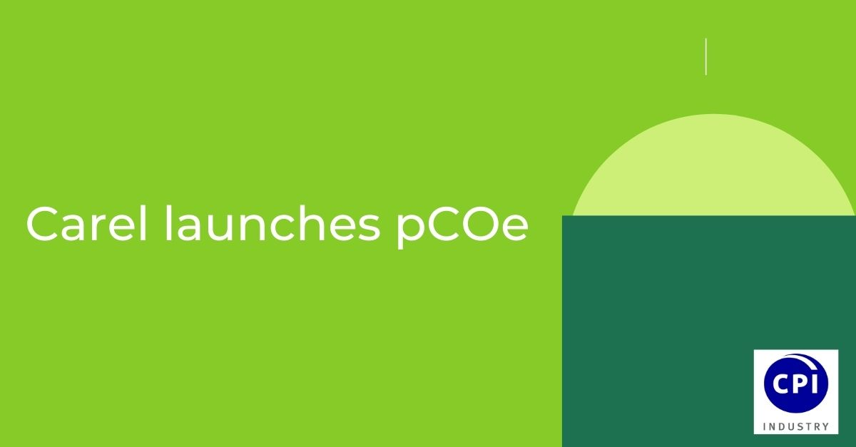 Carel launches pCOe