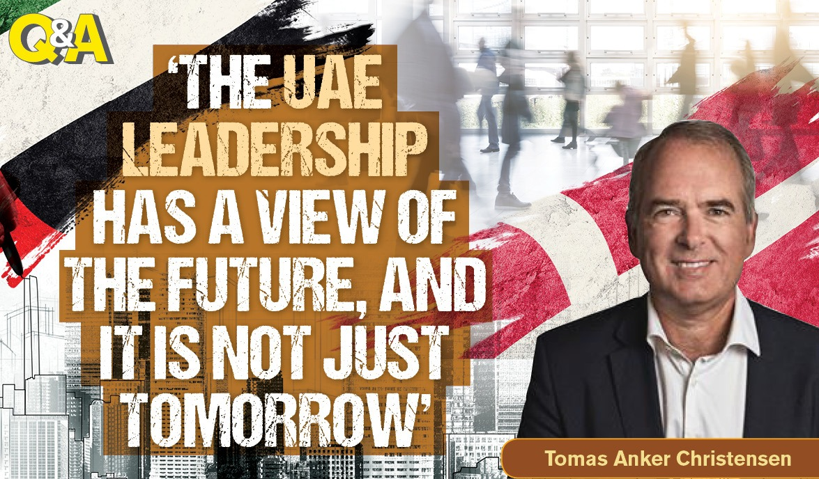'The UAE leadership has a view of the future – and it is not just tomorrow'