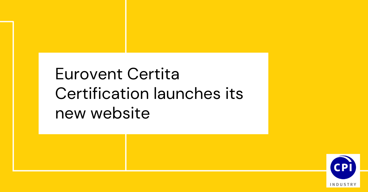 Eurovent Certita Certification launches its new website
