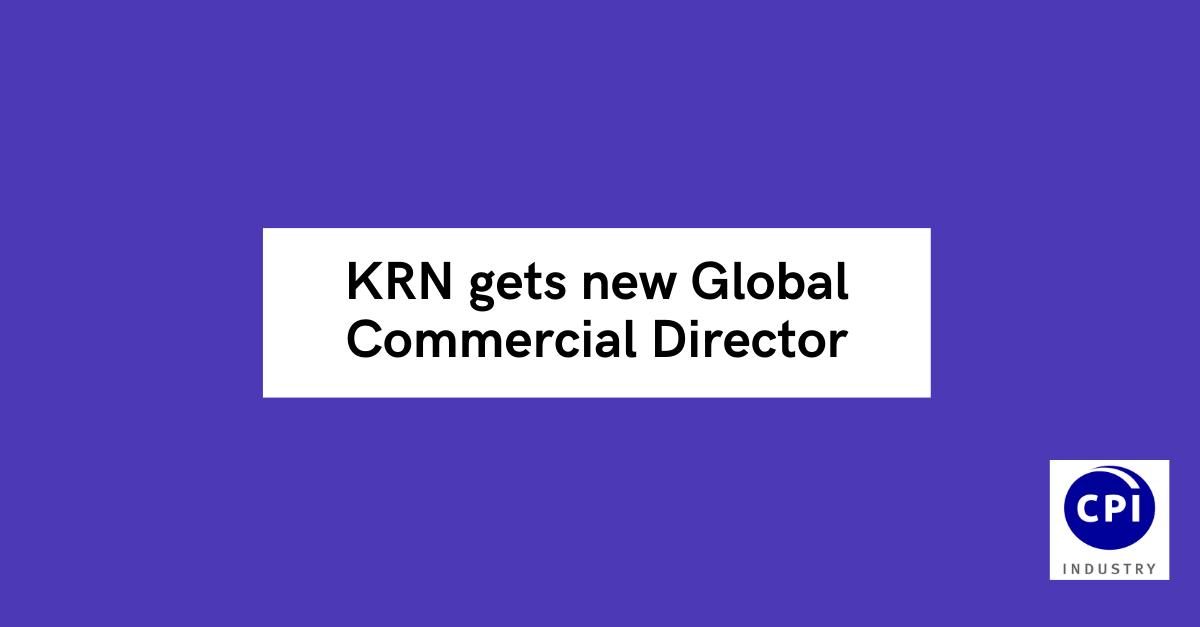 KRN gets new Global Commercial Director