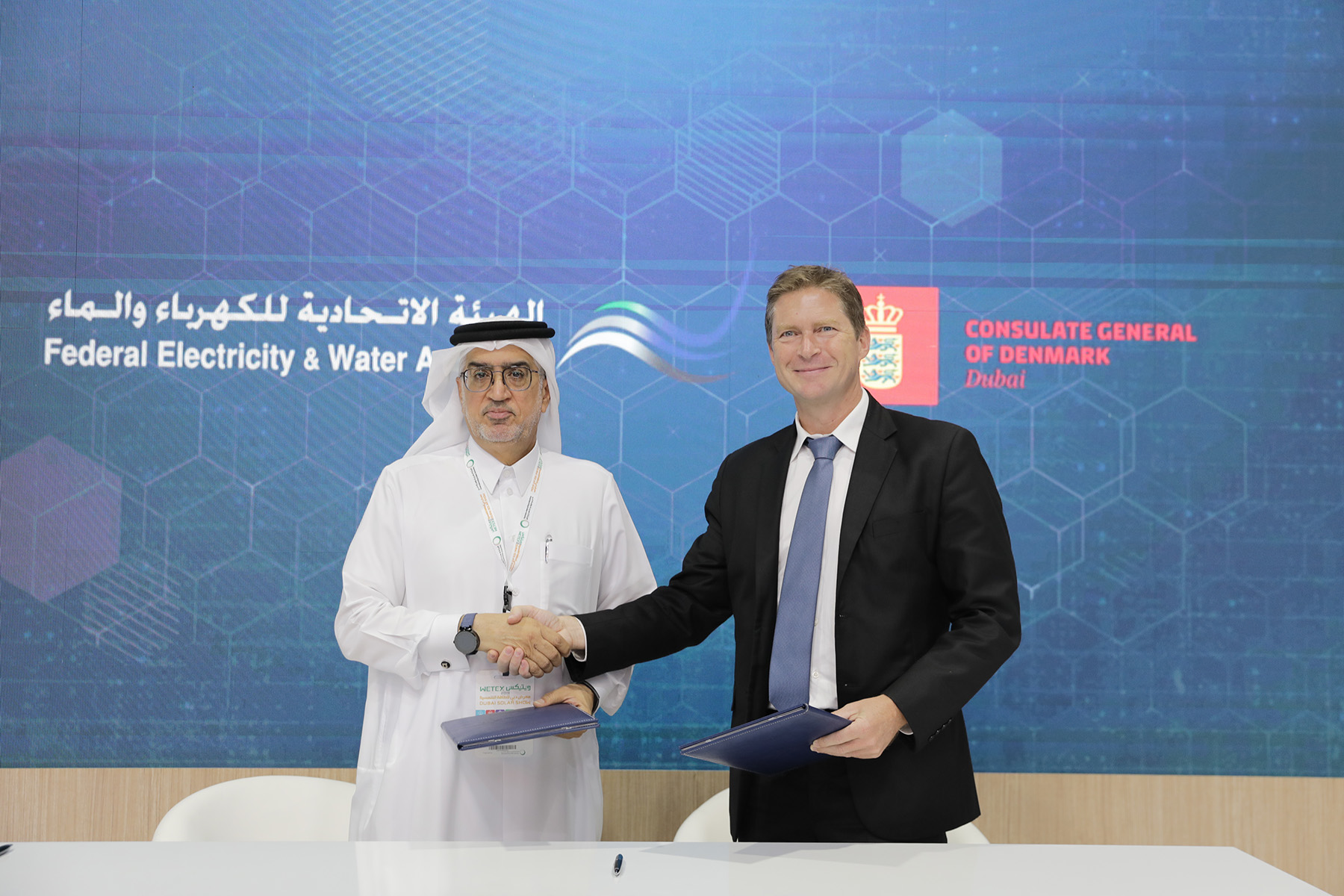 UAE's Federal Electricity and Water Authority signs MoU with the Royal Danish Consulate General in Dubai