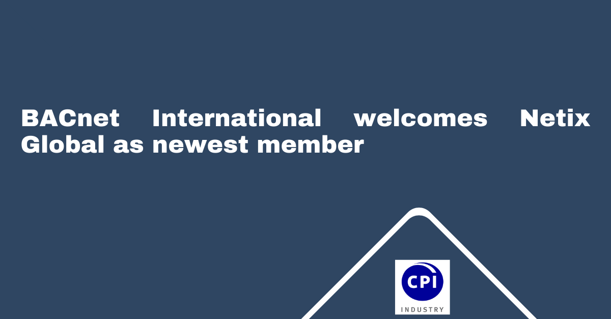 BACnet International welcomes Netix Global as newest member