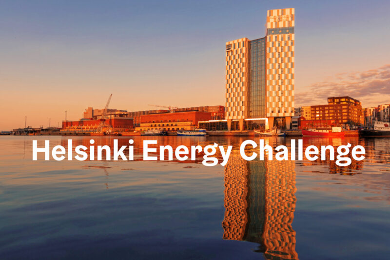 Helsinki Energy Challenge receives proposals from around the world